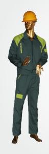 لباسکار دوتکه سپهر سبزخلبانی فسفری