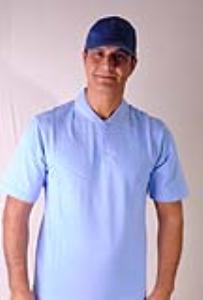 تی شرت آبی روشن