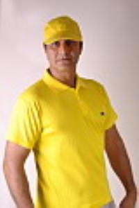 تی شرت زرد